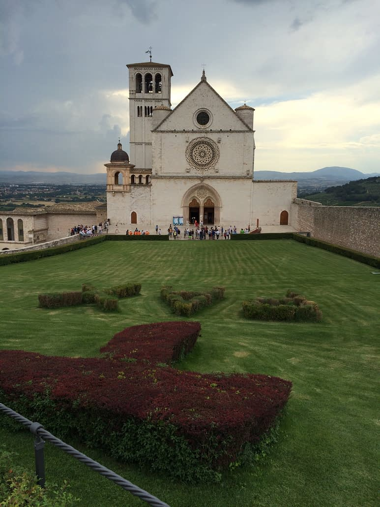 Franziskus Kirche in Assisi