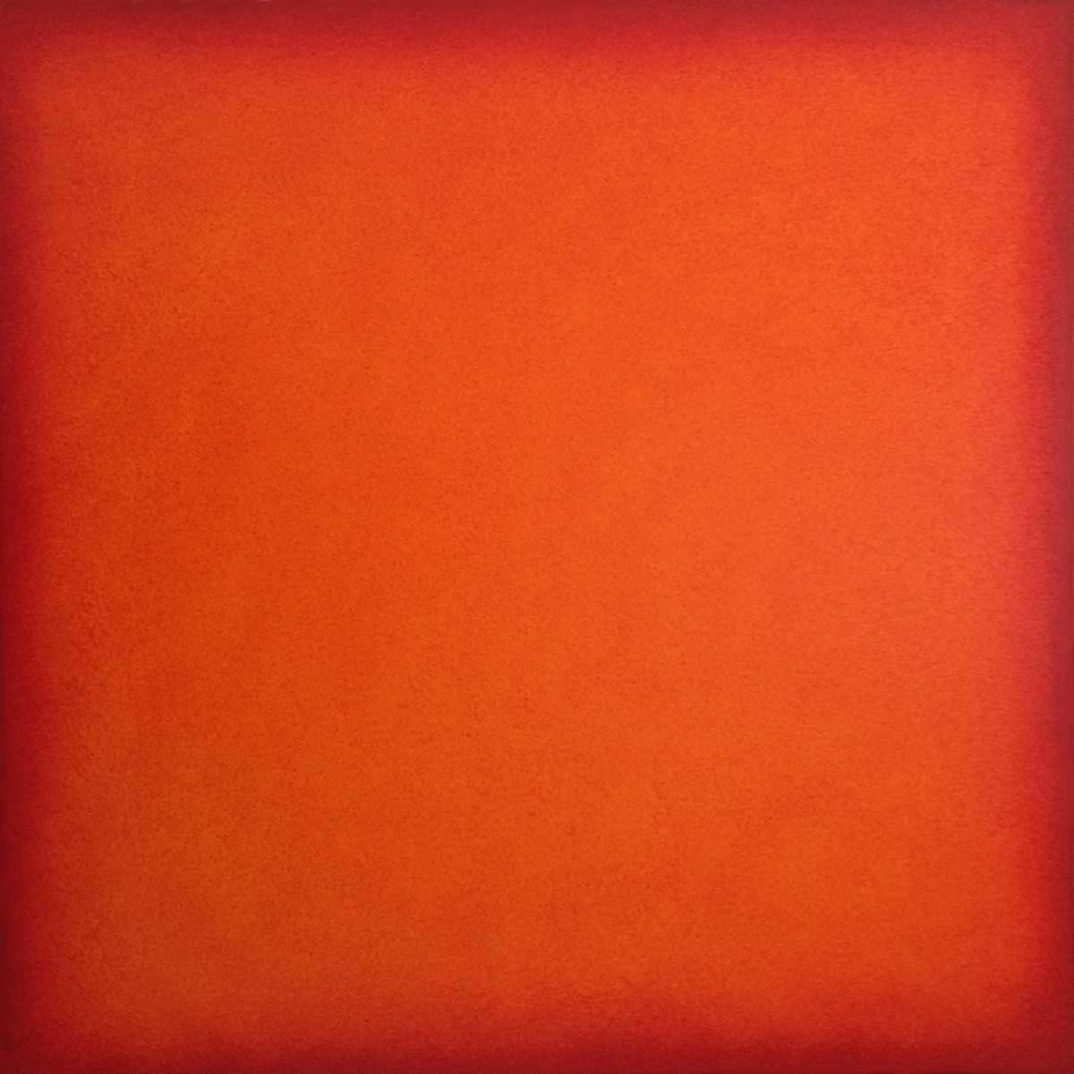 GERMANY | deep orange | 2016 | 80x80 | Öl auf Leinwand
